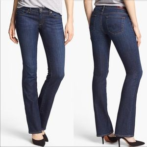 AG Olivia skinny boot dark wash jeans 31